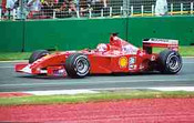 Michael Schumacher  -  Ferrari - Melbourne Grand Prix 2001