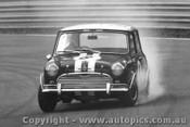 Brian Foley  -  Morris Cooper S  Warwick Farm  1967