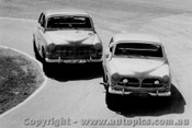 D. Seldon   -  Volvo 122S  Amaroo Park  1967