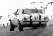 69001  -  Ian  Pete  Geoghegan  -  Three Wheeling Mustang  Oran Park  1969 - Photographer David Blanch
