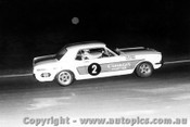 69021  -  Peter Finch  -   Ford Mustang - Oran Park 1969 - Photographer David Blanch