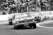 70027  -  D. Sheldon  -  Holden Monaro GTS 350 - Leading Gibson, Leo Geoghegan & Brock - Oran Park 1970 - Photographer David Blanch