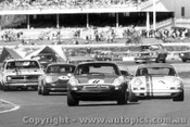 70032  -  First Lap - Homestead Corner Warwick Farm  -  Foley - Porsche / McKeown - Porsche / Moffat- Mustang / Brown / Beechey - Monaro - Warwick Farm 1970