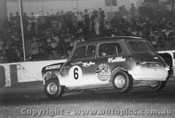 70043  -  Lynn Brown  -  Lightweight  Morris  Mini - Oran Park 1970 - Photographer David Blanch