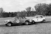 70044  -  B. Sharp / J. Leffler  -  Ford Falcon / Morris Mini - Oran Park 1970 - Photographer David Blanch