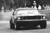 70057  -  Chris Brauer   -  Ford Mustang -  Warwick Farm 1970 - Photographer David Blanch