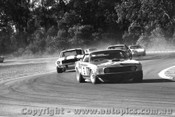 70060  -  First Lap   -   Moffat - Mustang / Geoghegan / Beechey - Monaro / McKeown - Porsche / Foley -  Warwick Farm 1970 - Photographer David Blanch