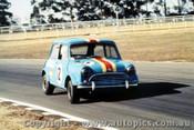 70061  -  Peter Manton   -  Morris Cooper  S   -  Warwick Farm 1970