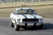 70062  -  Ian  Pete  Geoghegan  -  Ford Mustang  -  Warwick Farm 1970 - Photographer David Blanch
