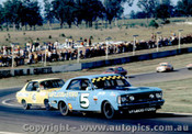 71009  -  John Goss / Peter Brock  -   Ford Falcon GTHO Phase 2 /  Holden Torana XU1- Oran Park 1971