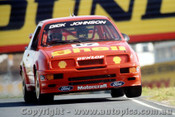 91001  -  Dick Johnson  -  Ford Sierra  Lakeside 1991