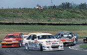 93002  -  First Lap Brock s Commadore leads the field -  Eastern Creek 1993