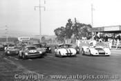 68415  -  Front Row - Allan / Gibson / Geoghegan  -  Elfin / Elan / Ferrari 250LM - Bathurst 1968