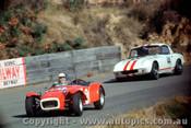 68420  -  Doug macarthur / Fred Gibson  -  Lotus Super 7 / Lotus Elan - Catalina Park Katoomba 1968