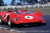 68424 -  Chris Amon  -  P4 Ferrari V12  Warwick Farm 1968