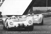 69401  -  B. Muir / D. Uhrhane  -  Lotus 23b Ford T/C / Elfin 300 Ford T/C - Warwick Farm 1969