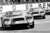 70403  -  Milano GT2  -  Angliss & Leer Milanos and Hamilton - Turner - Oran Park 1971