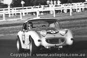 70419  -  John Allery - Austin Healey Sprite  -  Warwick Farm 1970- Photographer David Blanch