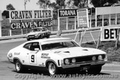 73701  -  A. Moffat / I. Geoghegan  -  Bathurst 1973 -  1st Outright & Class D  winner - Ford Falcon GT