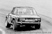 76717  -  Mc Donell / Hunter  -  Bathurst 1976 - Two Wheeling the Alfa Romeo GTV though the Dipper