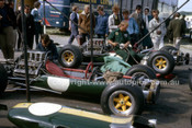 64575 -  Jim Clark & Mike Spence, Lotus 25 Climax - British Grand Prix, Brands Hatch 1964