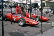 64577 -  Tony Maggs & Giancarlo Baghetti, Brm P57 - British Grand Prix, Brands Hatch 1964