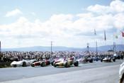 67618 -  Kevin Bartlett & Spencer Martin Brabhams & Niel Allen Elfin Traco - Bathurst 1967