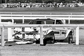 70842 - Allan Moffat & Pete Geoghegan Mustangs coming together at Warwick Farm 1970  - Photographer Lance J Ruting