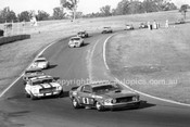 71363 - Allan Moffat, Pete Geoghegan, Mustangs - Bob Jane, Camaro - Oran Park 1971 - Photographer Lance Ruting