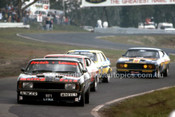 77074 - Rusty French Falcon XB,  Kevin Bartlett, Falcon XB, Warren Cullen, Torana L34 & Murray Carter, Falcon XB - Sandown 1977