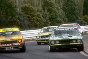 77076 - Jim Keogh Falcon XB & Peter Janson Torana L34 - Sandown 1977