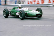 62564 -  Jack Brabham, Lotus 24 Climax - Monarco Grand Prix 1962