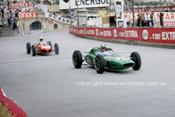 62565 -  Jack Brabham, Lotus 24 Climax & Lorenzo Bandini, Ferrari 156- Monarco Grand Prix 1962