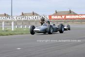 62585 - Dan Gurney, Porsche & Bruce McLaren, Cooper Climax, British Grand Prix, Aintree 1962