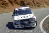 82709  -  G. Fury    Bathurst 1982 Nissan Bluebird Turbo