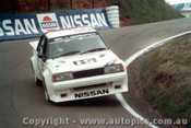 84720  -  G. Fury / G. Scott    Bathurst 1984  Nissan Blurbird Turbo