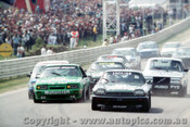 85701  -  Start of the Bathurst 1000 - 1985 - Jaguar Volvo Ford