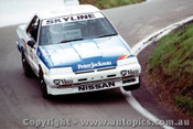 86703  -  G. Scott / T. Shiel    Bathurst 1986  3rd Outright  Nissan Skyline Turbo