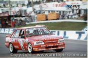 86712  -  G. Crosby / W. Wilkinson    Bathurst 1986  Commodore VK