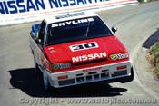 88704  -  G. Fury / M. Skaife    Bathurst 1988  Nissan Skyline