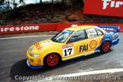 96703  -  D. Johnson / L. Bowe    Bathurst 1996  Ford Falcon EF