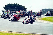 98303  -  Mick Doohan  -  First Lap  Philip Island  1998 - Photographer David Blanch