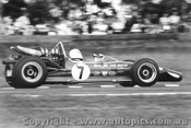 70604  -  Frank Matich  -  McLaren M10B F5000  Warwick Farm  1970 - Photographer David Blanch
