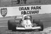 79609  -  L. Perkins - Elfin MR8 Chev  -  Tasman Series 1979- Oran Park