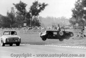 73401 - Bob McMinn - Mum Look No Hands -  Austin Healey Sprite Warwick Farm 1973