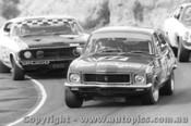 73015 - Morris Holden XU1 Torana ahead of Goss  Ford Falcon Amaroo Park 1973