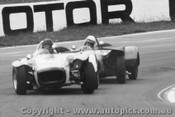 67427 - Stan Pinkerton Lotus Super 7 ahead of Peter Wilson Oran Park 1967