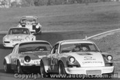 74020 - McKeown Geoghegan and Brown s Porsche s ahead of Thomson Volkswagen VW V8 Oran Park 1974