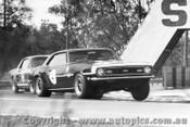 68038 - Norm Beechey Chev Camaro - Bob Jane Mustang  Warwick Farm 1968