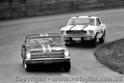 67027 - Beechey Chev Nova & Geoghegan Mustang Catalina Park Katoomba 1967